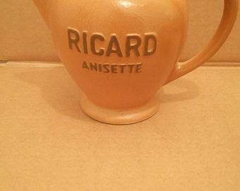French Pastis Ricard Water Jug,pitcher