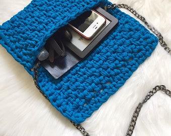 Crochet Clutch Bag / HADASSAH CLUTCH / Clutch Bag / Unique Clutch / Fashion Accessory / Women's Accessories / Detachable strap