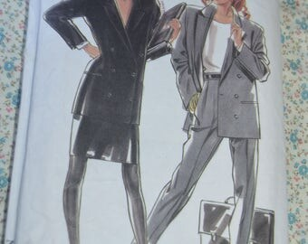 New Look 6063 Misses Jacket Skirt and Trousers Sewing Pattern - UNCUT - Size 8 - 18