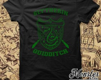 Slytherin House Quidditch Youth T-Shirt