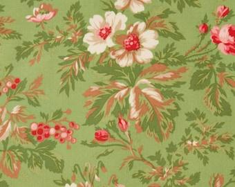 Incarnadine - Green Holly Fabric by Robyn Pandolph/ RJR Fabrics - Sold by the Yard