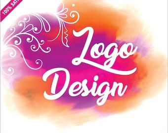 Logo Design, Custom Logo Design, 5 Logo Concepts, Business Logo, Royal Logo, Boutique Logo, Watercolour Logo, Gold Logo, Corporate Logo
