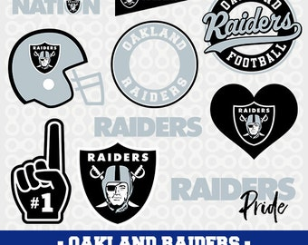 Oakland Raiders Svg Files, Raiders Football Clipart, Svg Cameo, Oakland Raiders Cricut Files, Raiders Svg Designs,Screen Printing, SVG-02
