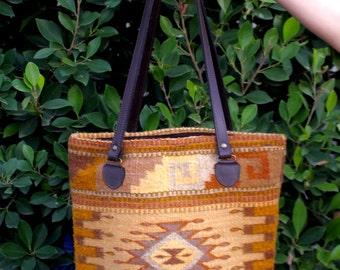 Aztec Wool Bag