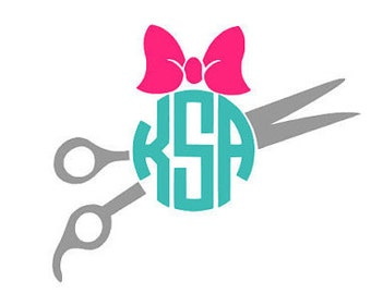 Personalized Hair Stylist Decal
