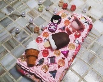 Kawaii Ice Cream Doll Deco Den Phone Case