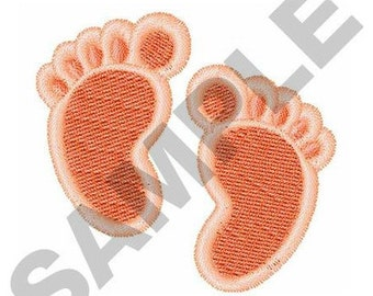 Baby footprints - Machine Embroidery Design