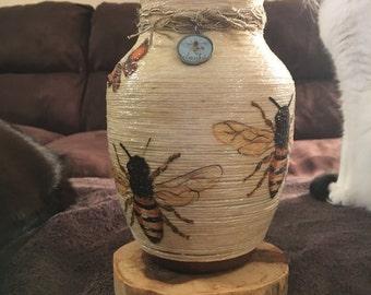 Bee Vase
