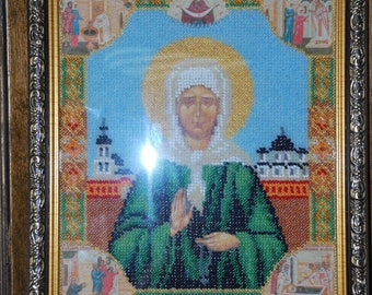 Icon Of St. Matrona Of Moscow