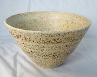 Small Stoneware Bowl with Speckled Matt Glaze.