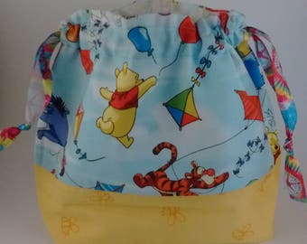 Pooh project bag