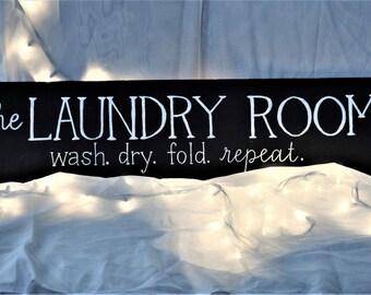 Laundry Room Decor Sign