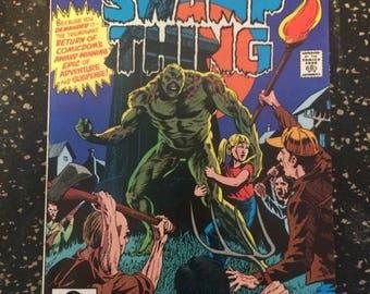 Saga Of Swamp Thing # 1 Comic by DC Comics