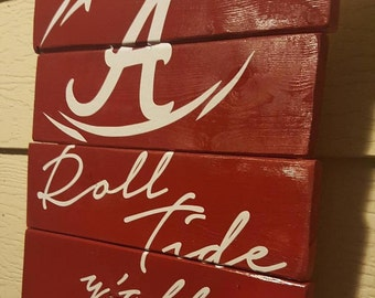 Roll Tide Pallet Sign