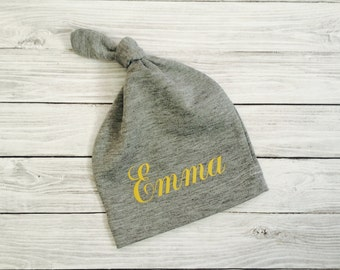 Personalized Baby Hat, Personalized Baby Girl Hat, Personalized Baby Gift, Personalized Baby Girl Gift, Personalized Newborn Hat,