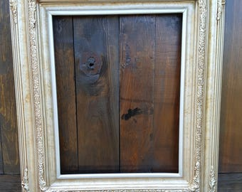 Traditional compo ornate wood frame, silver frame,wood picture frame,wedding frame,portrait frame,custom wood picture frame,graduation frame