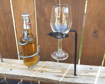 Wine Glass Holder Leaf