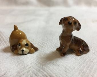 Vintage Hagen Renaker Miniature dogs