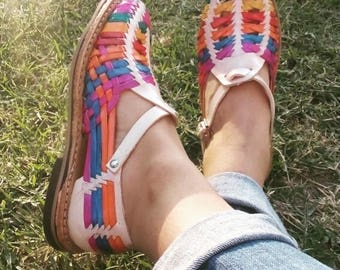 Mexican Huaraches - Leather Shoes - For Her