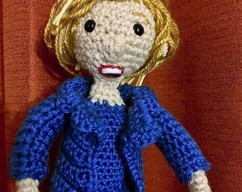 A Nasty Woman: Hillary Rodham Clinton doll