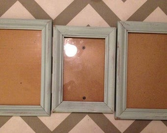 Distressed vintage frames