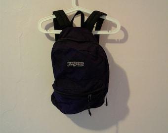 Vintage Jansport deep PURPLE Backpack