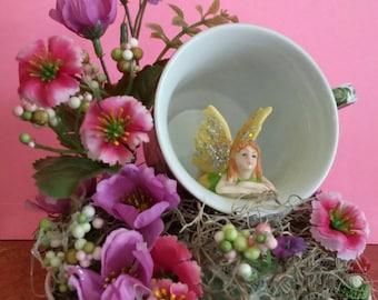 Purple Fairy in a Teacup!