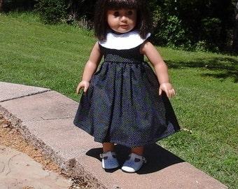 Sleeveless dress for 18 inch doll