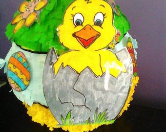 Piñata chick / decoration / party
