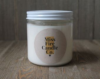 SURPRISE SCENT - Soy Candle in a Glass Jar