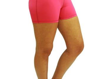 Tight fitting high waist short - Smash