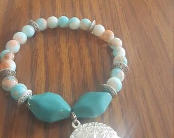 Diffuser locket bracelet