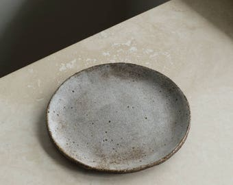 Ceramic Side Plate - Lunar