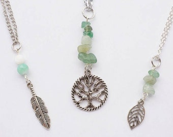 Crystal and Charm Necklace