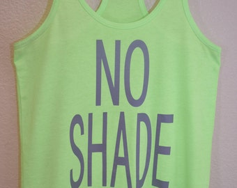 No Shade Tank (Adult M)