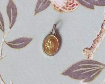 Antique pendant of the Holy Virgin, Lourdes