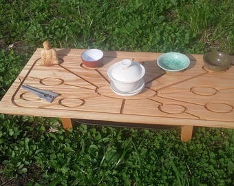 Tray for  Chinese tea ceremony, tea desk 1