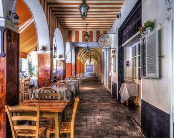 Santa Margherita Ligure. Artistic photography.