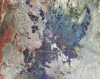 Abstract Painting in Mixed Media
