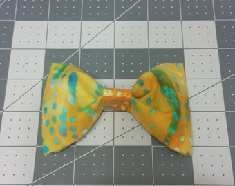 Mustard Yellow Clip-on bow ties