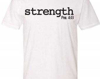 STRENGTH - PHILIPPIANS 4:13