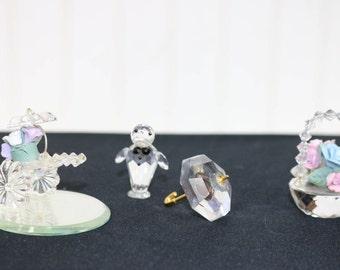 Swarovsky Crystal figuirines