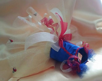 Snow White Inspired Tutu Custom Made with your measurements  up to a 12 inch girth