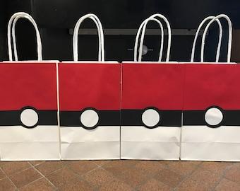 Pokémon Gift Bags (Pokéball)