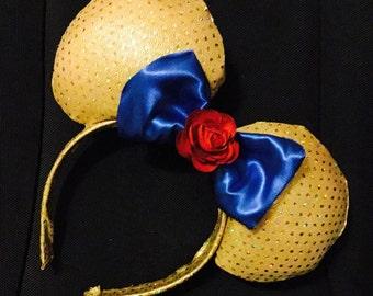 Belle Ears Mickey/Minnie Ears