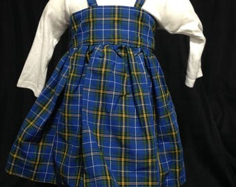 Cross-Back Nova Scotia Dress