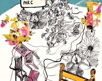 faux ennex's parc, precarious, havelock - fine art prints