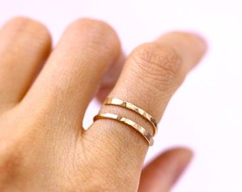 Bypass ring Etsy