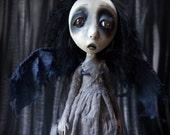 Gothic Ghost Art Doll Decoration Dark Fantasy Faerie Fairy Angel Bobby