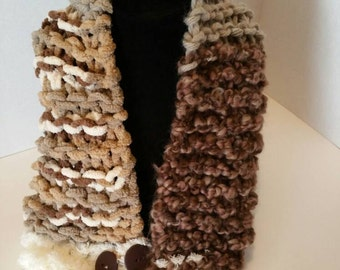 Super Chunky Infinity Scarf-Ready to Ship